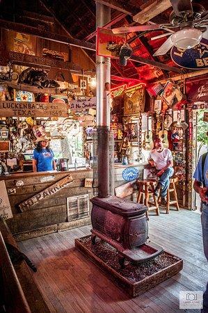 Luckenbach, TX: Bar 2