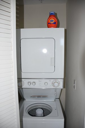 Ruskin, FL: laundry on 2nd floor by bedrooms.