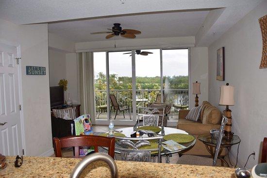 Ruskin, FL: View from kitchen. First floor.