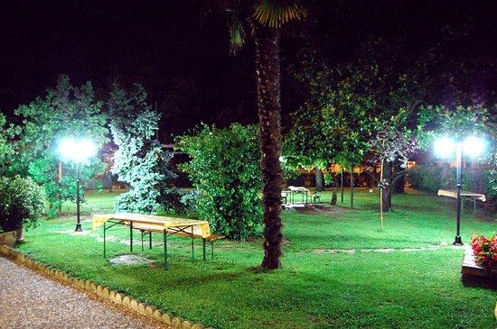 Fiumicello, Italien: giardino