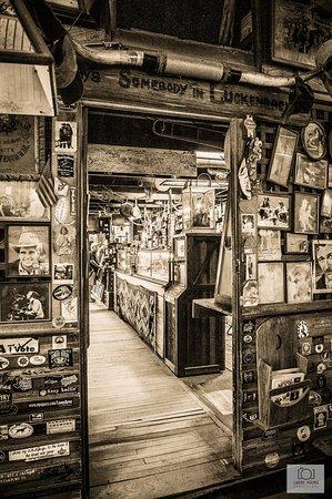 Luckenbach, Τέξας: Store Back
