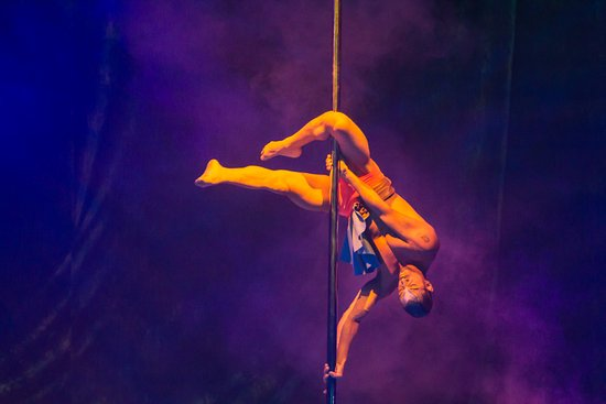 Delirio: The talented circus element