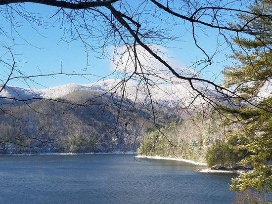 Robbinsville, Carolina del Norte: My view on a winter morning.