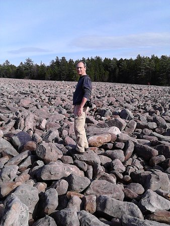 Hickory Run State Park : MASSIVE field of unending boulders! Soooooo cool to explore!!