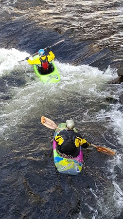 Franklin, Nueva Hampshire: ONE offers classes for all skill levels! Kayaks and safety gear are required can be rented.