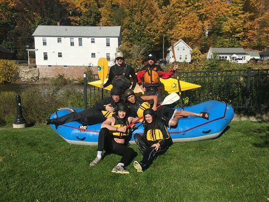 Franklin, Νιού Χάμσαϊρ: ONE offers classes for all skill levels! Kayaks and safety gear are required can be rented.
