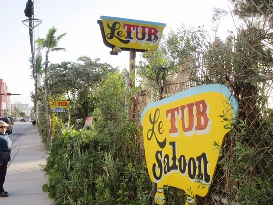 Photo of American Restaurant Le Tub at 1100 North Ocean Drive, Hollywood, FL 33019, United States