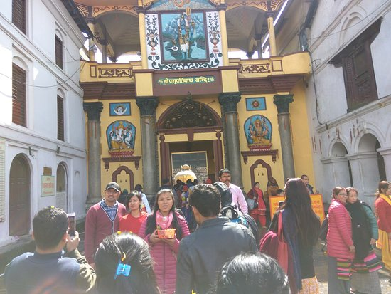 Image result for inside pashupatinath temple