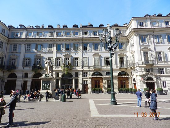 Photo of Monument / Landmark Piazza Carignano at Piazza Carignano, Turin 10121, Italy