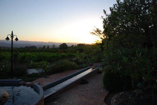 Robertson, South Africa: Abenddämmerung