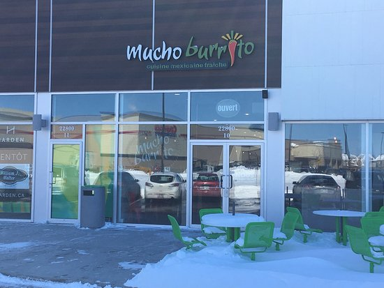 Vaudreuil-Dorion, แคนาดา: Mucho Burrito