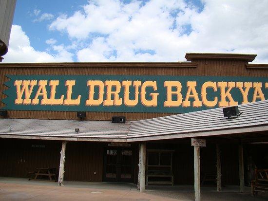 Wall, South Dakota: Wall Drug Backyard