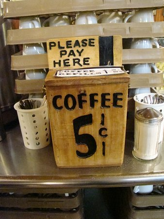 Wall, SD: 5 Cents Coffee