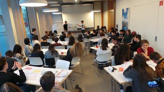 Green City Hotel Vauban: Un workshop con gli studenti