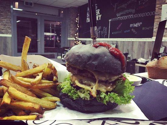 Beverwijk, The Netherlands: Mes's Burger Factory