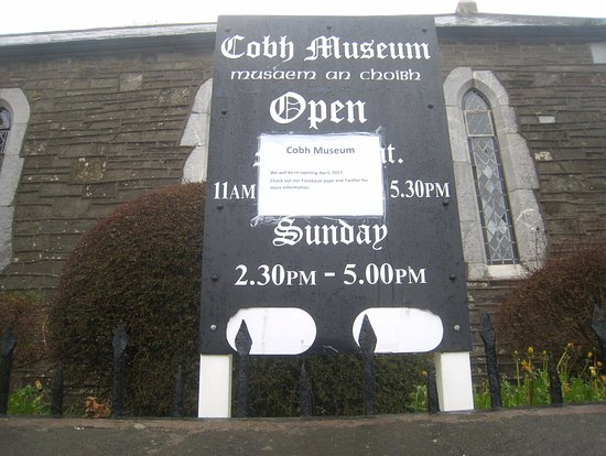 Cobh Museum : Out of season