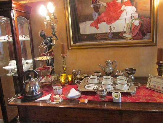 Boutique Hotel Mansion del Angel: High tea in the afternoon