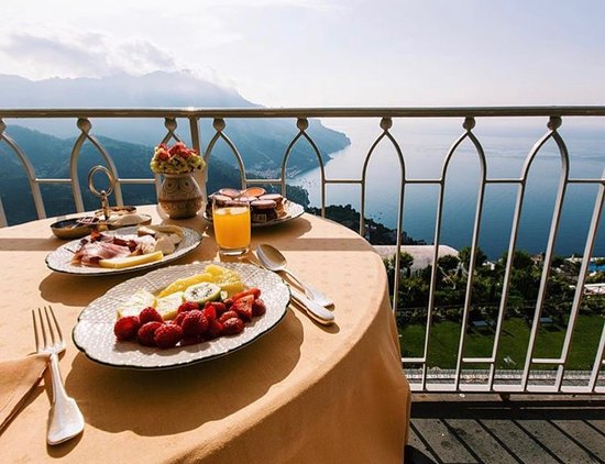 breakfast terrace obr zek za zen belmond hotel caruso On breakfast terrace