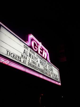 Marquee Always Patsy Cline Picture Of The Gem Theater Garden Grove Tripadvisor