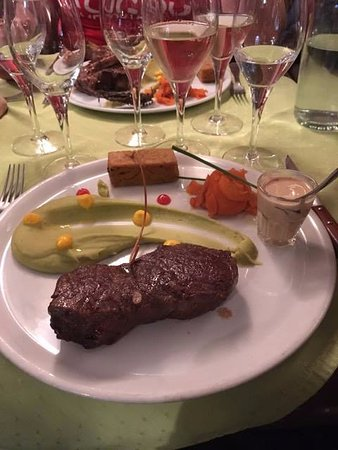La Salle les Alpes, Γαλλία: Steaks were very tender
