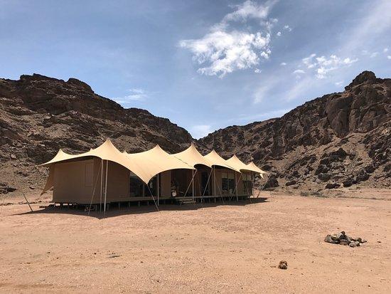 Skeleton Coast Park, Namíbia: Family Quad Tent