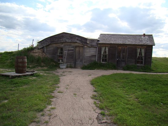 Philip, SD: Original Sod House and Homestead