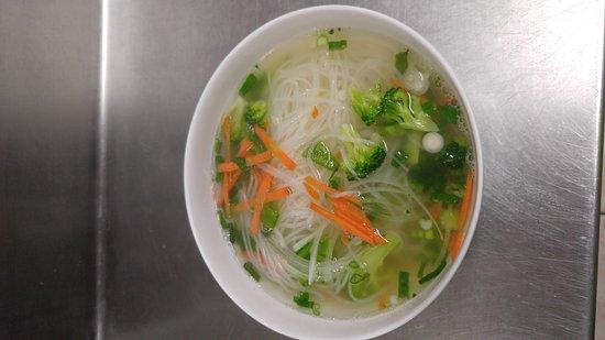 มาร์แชลล์ทาวน์, ไอโอวา: Yummy homemade Vegetarian Pho'