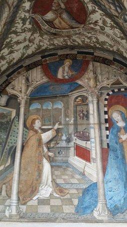 Basilica di Santa Maria di Castello: dipinto ricco di particolari