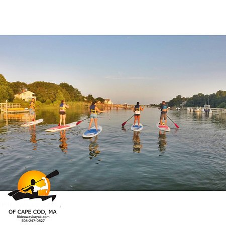 Sandwich, MA: Let us give a paddle board or kayak lesson with our certified guides