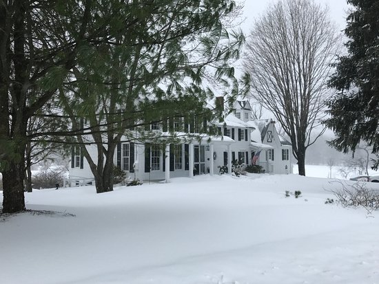 Inn at Stony Creek: A winter wonderland