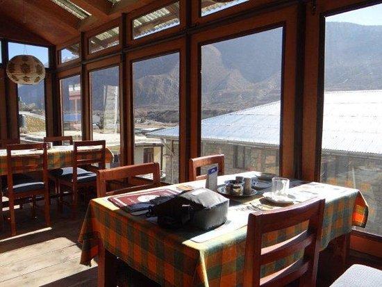 Jomsom, Nepal: Xanadu dining room