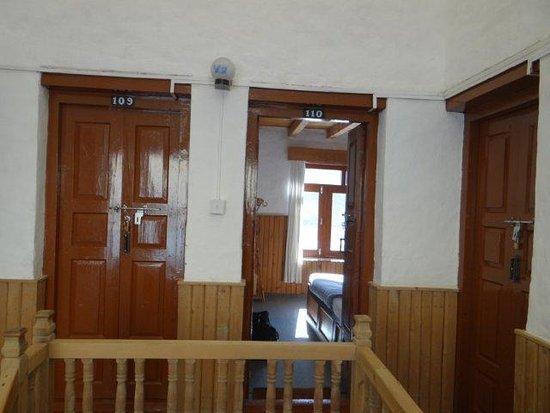 Jomsom, Nepal: Room entrance