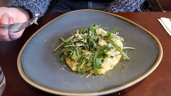Forres, UK: Leek and cheese risotto