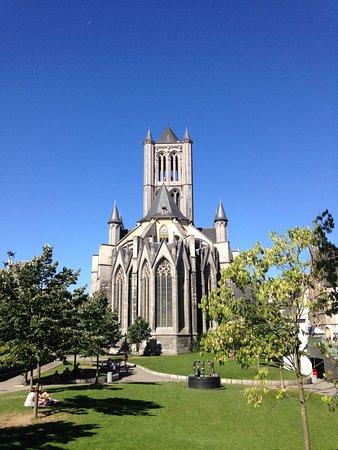 Photo of Historic Site Saint Nicholas Church at Cataloniestraat, Ghent, Belgium