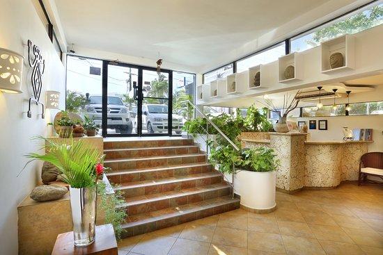 Hotel Villa Taina: Our lobby