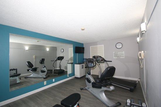 Clinton, Carolina del Sur: Fitness Room
