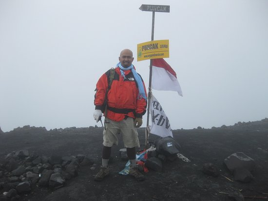 East Java, Indonesië: top of Mahameru