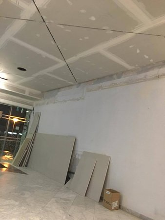 Prince Park Hotel: work being done in reception area