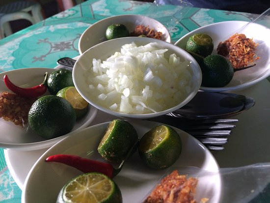 Rosario, Filipinas: Condiments
