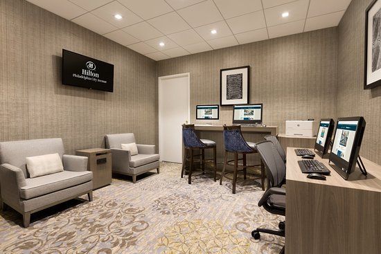 Hilton Philadelphia City Avenue: Business Center