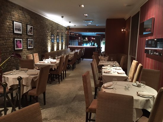 Woodlands - Hampstead: The main dining room