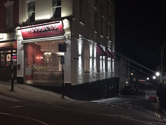 Woodlands - Hampstead: Our new outside lights!