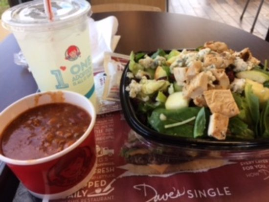 Troy, AL: Apple Pecan Chicken Salad and Chili