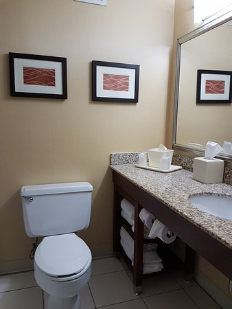Same in basic room or suite.