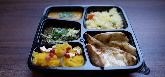 Woodlands - Hampstead: A Big dinner box