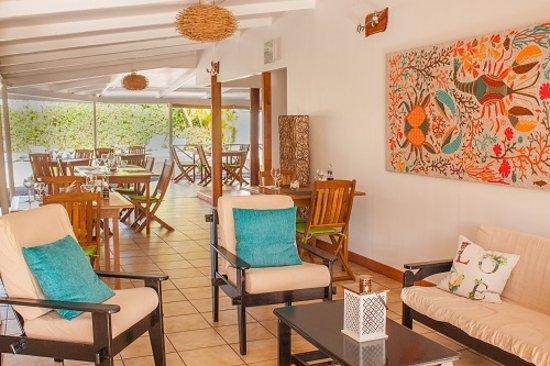Uturoa, French Polynesia: Salon d'attente