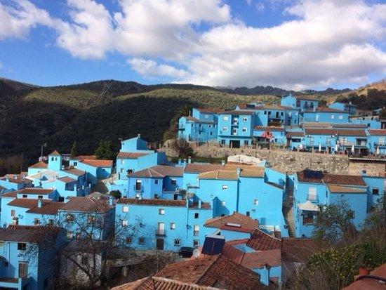 Júzcar, España: Piú blu di cosí....