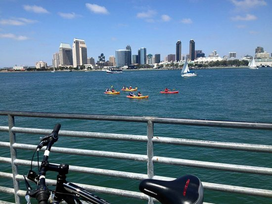 Coronado, CA: I will be kayakin like them in an hour