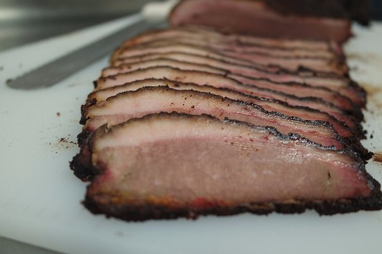 Monmouth, OR: Slow Smoked Brisket, dry rubbed and smoked for 12 hours.