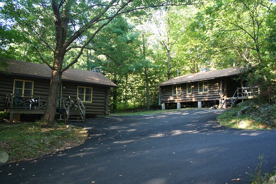 Our 2 log cabins - Picture of Candlelight Cottages LLC on